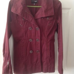 Hurley cotton peacoat size xs